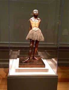 "National Gallery of Art, ""Little Dancer Aged Fourteen"" original by Edgar Degas"