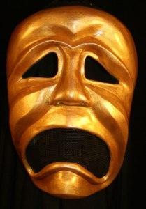 tragedy-mask