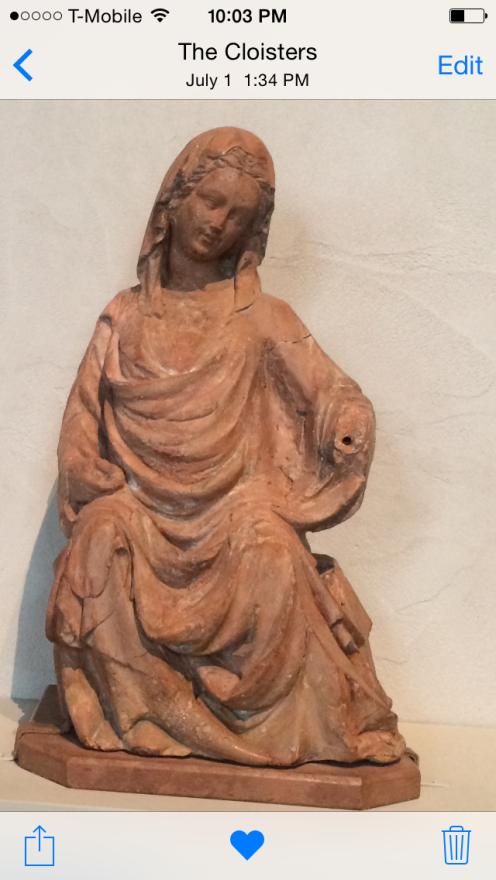 virgin statue